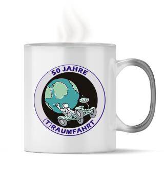 50 Jahre Traumfahrt | Mond Tasse