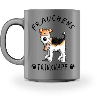 Frauchens Trinknapf Foxterrier Tasse