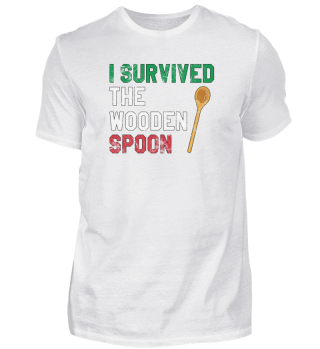 I Survived The Wooden Spoon Italy Gift