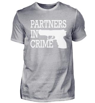 Partners in Crime Pistole Liebe Hochzeit