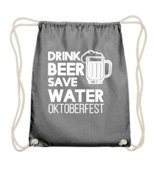 Oktoberfest drink beer save water