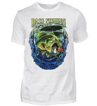 Angeln Angler Bass Fishing Barsch