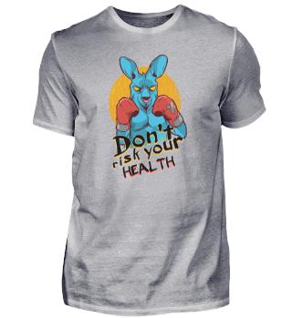 Don't risk your health kangaroo
