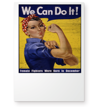 WE CAN DO IT - Emanzipation born 12