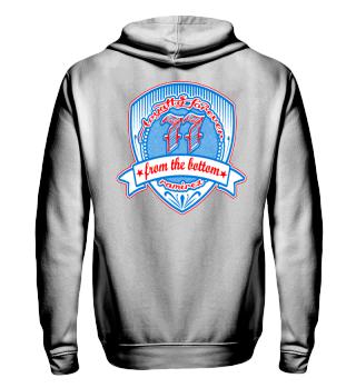 Herren Zip Hoodie Sweatshirt From The Bottom Ramirez