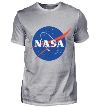 Nasa Logo T-Shirt Meatball Weltraum