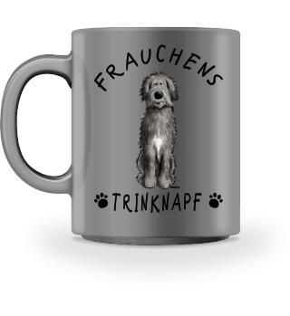 Frauchens Trinknapf Irischer Wolfshund