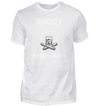 Whiskey Lover Wife Shirt