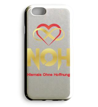 Handyhülle im NOH Design (Gold)