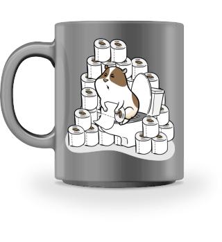 Funny Toilet Paper Hamster