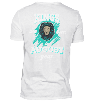 kings are born in august back