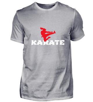 Karate girl jumping side kick Martial Ar