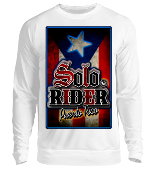 Herren Langarm Shirt Solo Rider Ramirez