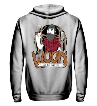 Herren Zip Hoodie Wood Ramirez