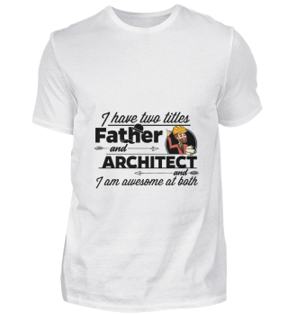 D001-0109B Proud Architect Architekt - A
