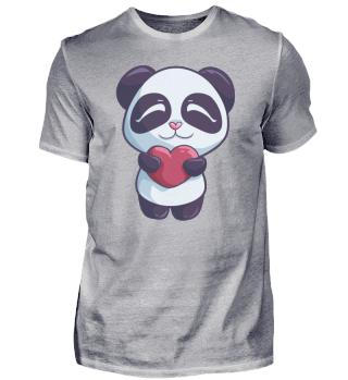 Panda Herz Liebe Valentinstag Geschenk