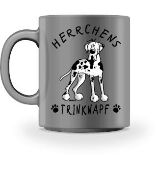 Herrchens Trinknapf Deutsche Dogge