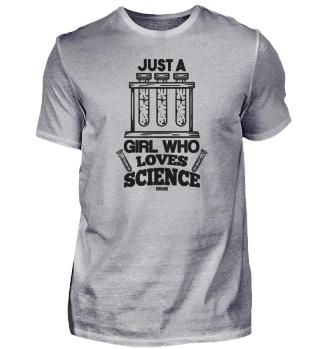 Test Tube girl woman chemistry lab