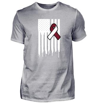 Fck Cancer Shirt head and Neck cancer