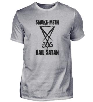 Smoke Meth Hail Satan religion Satanist