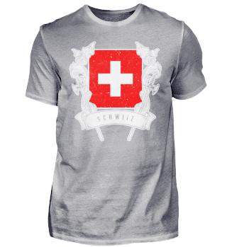 Schweiz Schweizerfahne Schwiiz Mundart