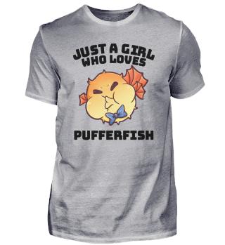 Kugelfisch Liebe Mädchen