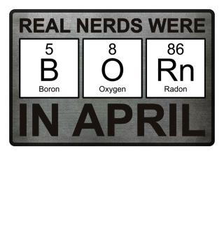 Periodic Elements - BORN april black