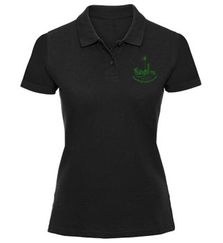 MGG 1928 - Damen Polo Black