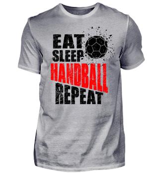 Vibrant Handball Gift Shirt