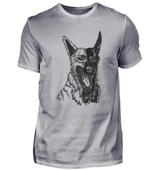 Snappy Dog Mutt Four-legged Bloody Pet