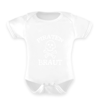Piraten Braut - Strampler