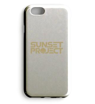 Hülle (iPhone oder Samsung) mit goldenem Logo