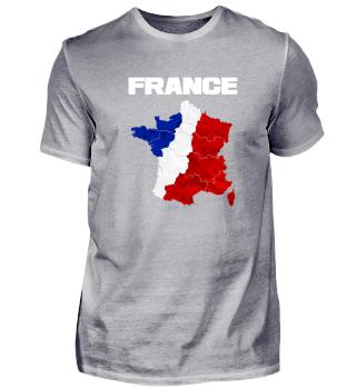 Frankreich Franzosen Geschenk Flagge