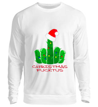 Christmas Cactus Middle Finger