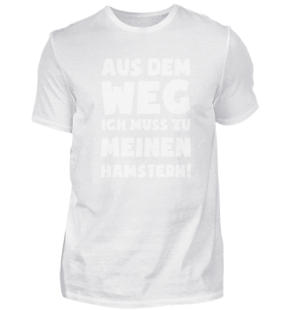 Geschenk Hamster: Muss zu Hamstern!