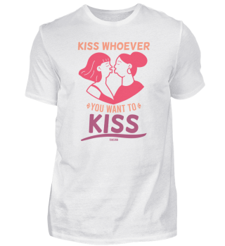 Kissing woman girl lesbian love