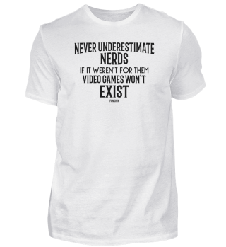 Nerd Geek Gamer lustig Spruch Geschenk