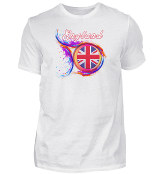 England Flag 2021 Holi Greeting UK England Flag Souvenir product-cc68