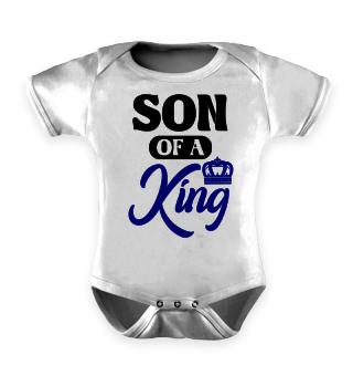 Son Of A King Vater Sohn Geschenk Shirt