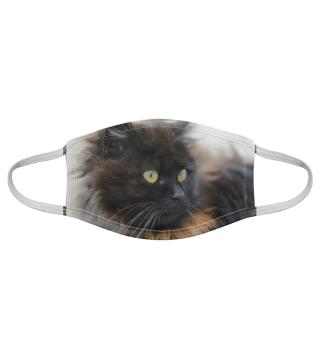 Gesichtsmaske mit Katzenmotiv 20.70