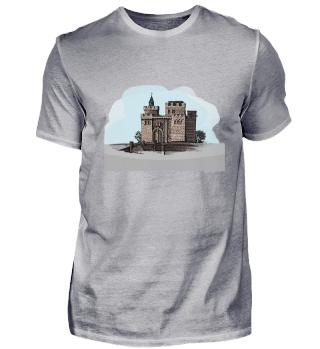 T-Shirt mit dem Schloß