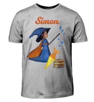 Einschulung Simon