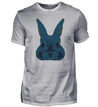 Rabbit logo blue