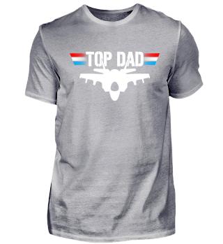 Top Dad Jet Düsenjäger Pilot Geschenk