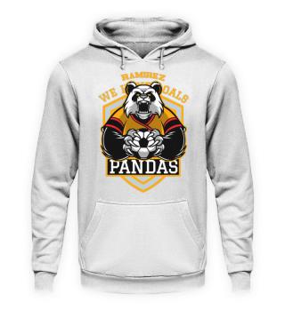 Herren Hoodie Sweatshirt Pandas Ramirez
