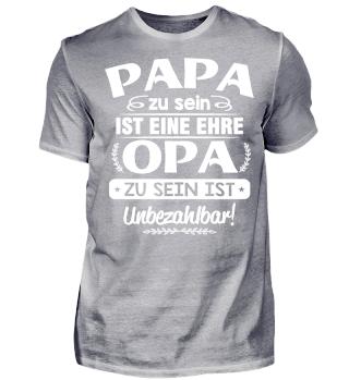 PAPA - OPA ZU SEIN T-SHIRT