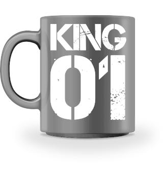 King Vater Partnerlook Geschenk Tasse