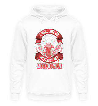 Lustiges Motorrad Hoodie Sprüche Männer