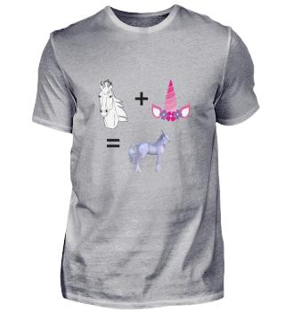 Pferd + Horn = Einhorn