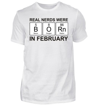 Periodic Elements - BORN february black
